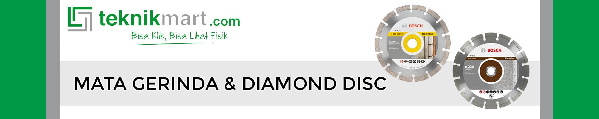 Mata Gerinda & Diamond Disc