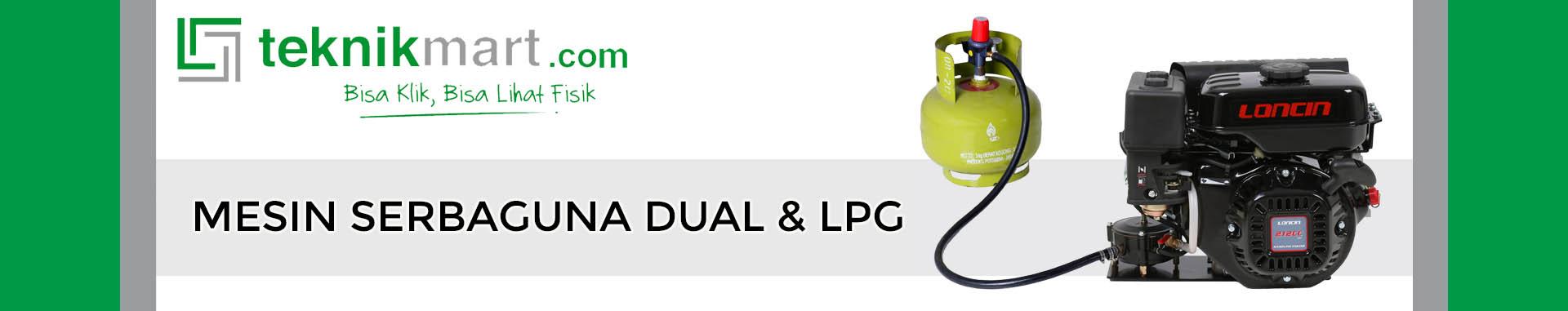 Mesin Serbaguna Dual & LPG