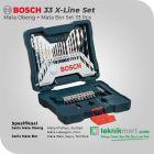 Bosch 33 Pcs X-Line Set Mata Bor dan Obeng