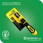 Stanley STHT68010-8 10Pcs Racheting Multi Bit Screwdriver