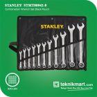 PROMO Stanley STMT80942-8 Combination Wrench Set 11 Pcs Black Pouch