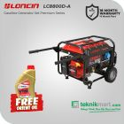 Loncin LC8800D-A 6500 Watt Generator Bensin