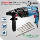 Combo Promo Bosch GBH 2-24 DRE 24 mm Rotary Hammer 790W free Mata Bor