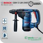 Bosch GBH 3-28 DRE 800Watt 28mm Rotary Hammer atau Bor Beton Listrik