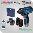 Bosch GDR 120-LI GEN3 12V Cordless Impact Driver / Obeng Impact Baterai