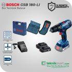 Bosch GSB 180-Li 18Volt Cordless Impact Drill / Bor Impact Baterai