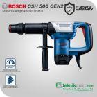 Bosch GSH 500 Gen3 7.8 Joule Demolition Hammer / Mesin Bobok Beton Listrik