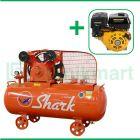 Shark 3 HP LVU-8003 Kompresor Angin Unloader Dengan Mesin Bensin G 270F