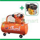 Shark 1/2 HP LVU-5112 Kompresor Angin Unloader Dengan Mesin Bensin G160F