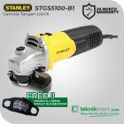 Stanley STGS5100-B1 100mm 580Watt Gerinda Tangan Listrik