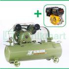 Swan 5 HP SVU-205 Kompresor Angin Unloader Dengan Mesin Bensin G 390F