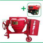 Tropic 400 L Pengaduk Concrete Dengan  Mesin Diesel