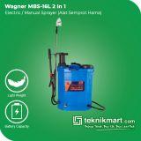 Wagner MBS-16 L 2 In 1 Electric/Manual Sprayer 16 Liter (Alat Semprot Hama)