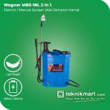 Wagner MBS-18 L 2 In 1 Electric/Manual Sprayer 18 Liter (Alat Semprot Hama)