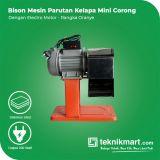 Bison Parutan Kelapa Mini Dengan Electro Motor (Rangka Oranye)