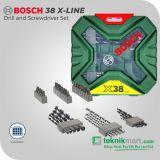 Bosch 38 pcs X-Line Drill and Screwdriver Set / Mata Bor dan Obeng Set