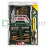Bosch 40 Pcs Titanium X-Line Set + Screwdriver / Mata Bor dan Mata Obeng Set