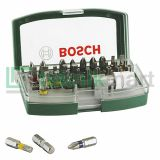 Bosch 32 Pcs Screwdriver Bit Set With Colour Coding