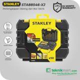 PROMO Stanley STA88546-XJ 50 Pcs Drilling & Screwdriving Set / Mata Bor & Mata Obeng Set