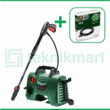 Bosch 1300Watt 110Bar Easy Aquatak 110 High Pressure Washer Dengan Bosch Extension Hose 6 Meter
