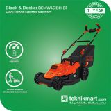 PROMO Black And Decker BEMW451BH 1200Watt Electric Lawn Mower / Potong Rumput Listrik