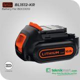 Black And Decker BL1512 10.8Volt 1,5A Baterai Lithium Ion For BDCDD12