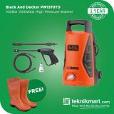 Black And Decker PW1370TD 100Bar 1300Watt High Pressure Washer