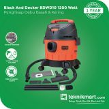 PROMO Black And Decker BDWD10 1200Watt Vacuum Cleaner Wet & Dry