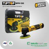 Tip Top BPR-120 12Volt 4inch Cordless Polisher / Mesin Poles Baterai