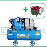 Puma 7.5 HP PUK-75-250 A Kompresor Angin Unloader Dengan Mesin Diesel S 1100