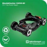 Black And Decker CM100 3 in 1 City Mower Wagon Acc For GL4525
