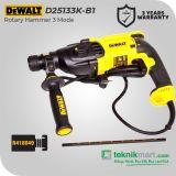 Dewalt D25133K 800Watt 26mm Rotary Hammer / Bor Beton Listrik