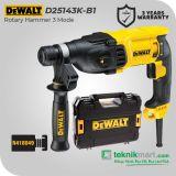 Dewalt D25143K 900Watt 28mm Rotary Hammer / Bor Beton Listrik