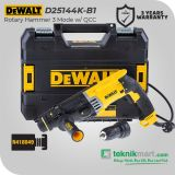 Dewalt D25144K 900Watt 28mm Rotary Hammer with QCC / Bor Beton Listrik