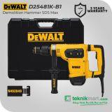 Dewalt D25481K 1050Watt 40mm Demolition Hammer / Bor Bobok Beton
