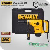 Dewalt D25811K 1050Watt Hex 17 Demolition Hammer / Bor Bobok Beton