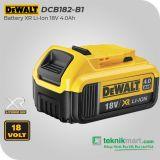 Dewalt DCB182 18V 4.0Ah Battery Li-Ion XR / Baterai