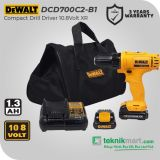 Dewalt DCD700C2 10.8Volt Cordless Drill Driver / Bor Obeng Baterai