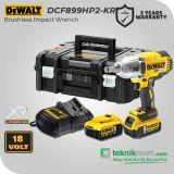Dewalt DCF899HP2 20V Brushless Impact Wrench / Kunci Impact Baterai