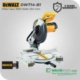 Dewalt DW714 1650W 255mm Miter Saw / Mesin Gergaji Miter Listrik