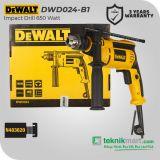 Dewalt DWD024 650W 13mm Impact Drill / Bor Tangan Listrik Impact