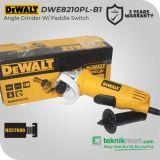 Dewalt DWE8210PL 850W 125mm Angle Grinder Paddle Switch / Gerinda Tangan Listrik