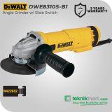 Dewalt DWE8310S 1010W 125mm Angle Grinder / Gerinda Tangan Listrik