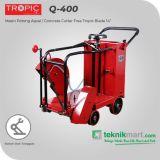 "Tropic TPQ-400 Mesin Potong Aspal Free Tropic Blade 14"""