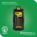 PROMO Stanley STA7221 Drilling And Screwdriver Bits Set / Mata Bor dan Mata Obeng Set 16 pcs