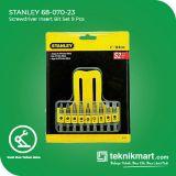 PROMO Stanley 68-070-23 9 Pcs Screwdriver Insert Bit Set / Mata Obeng Set