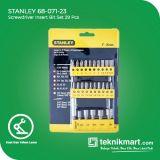 PROMO Stanley 68-071-23 26Pcs Screwdriver Insert Bit Set / Mata Obeng Set
