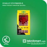 Stanley STHT66039-8 Metal Precision Srewdriver Set 6Pcs