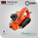 Black And Decker KW712 650Watt Planner / Mesin Serut Listrik
