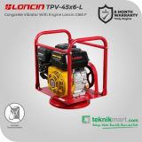 Loncin G 160 F With TPV 45x6 Concrete Vibrator